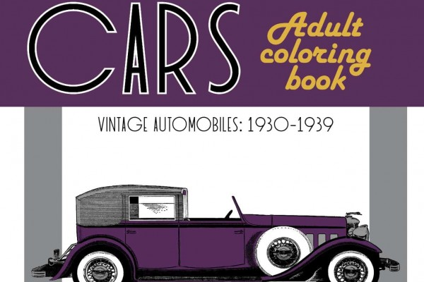Classic Cars Adult Coloring Book #3: Vintage 1930s Automobiles (1930-1939)
