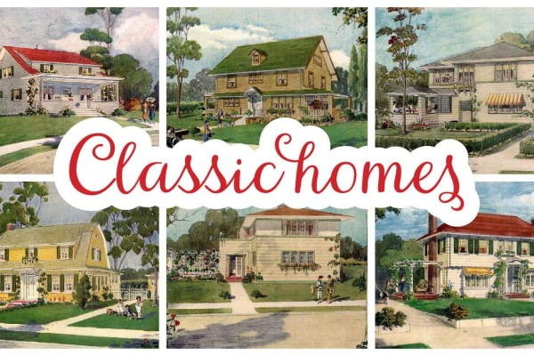 See some charming & classic All-American suburban houses from 1919
