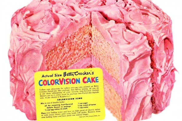 ColorVision cake recipe: A fun & fruity retro dessert from the '50s