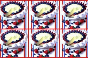 Cool 'n' easy 4th of July pie, no-bake blueberry pie & blueberry fluff (1999)