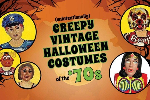 These vintage Halloween costumes based on '70s TV shows were creepy for all the wrong reasons