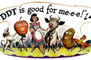 'DDT is good for me-e-e!' The ad said it so it must be true (1947)