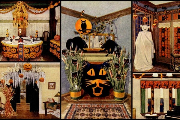 DIY Halloween decorations on a budget: Fiendishly clever ideas from the days before party supply stores (1919)