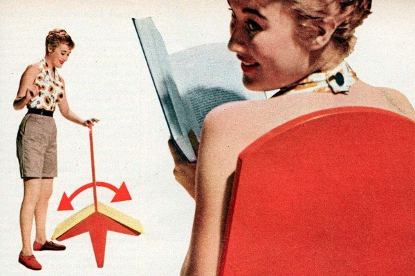 DIY How to make a vintage-style flip-over chair (1955)