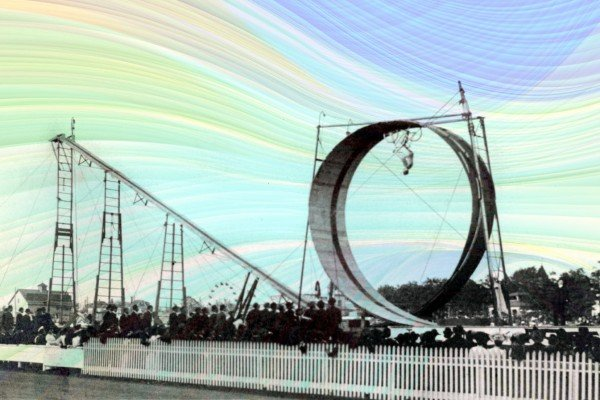 How bicycle daredevil Diavolo looped the loop back in the early 1900s