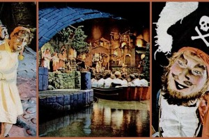 See Disneyland's original Pirates of the Caribbean ride, before the changes