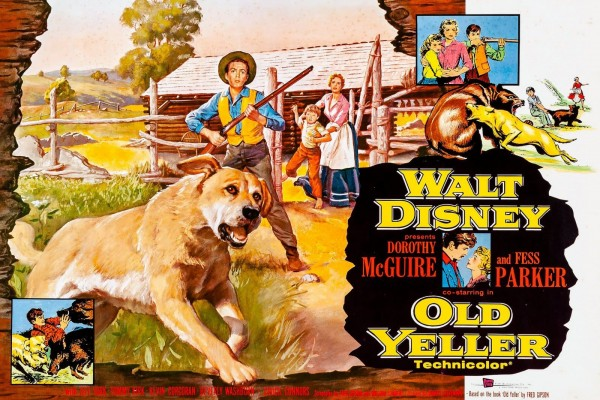 Disney's Old Yeller: The classic movie about the best doggone dog in the west (1958)