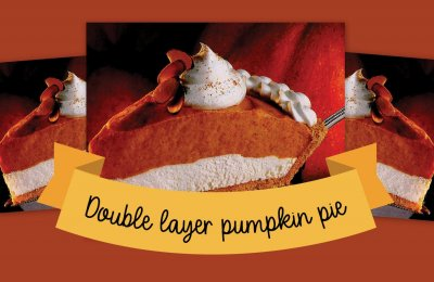 Vintage recipe double feature: Sensational double-layer pumpkin pie (1992) & a triple-layer pumpkin chiffon pie (1972)