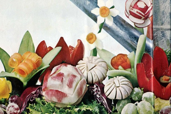 Fancy fruit & veg! Do-it-yourself garnishes (1965)