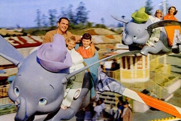 Fifties fun in Disneyland: See early rides at the famous California amusement park
