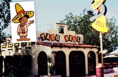 Vintage Taco Bell restaurants & what the Mexican fast-food chain used to serve