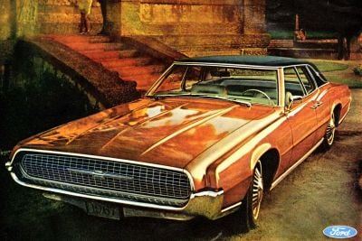 Ford Thunderbirds from the 60s