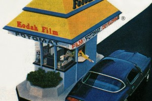 The famous, fabulous Fotomat drive-up photo stores of the '70s & '80s