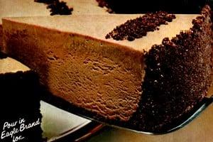 Frozen mocha cheesecake (1983)