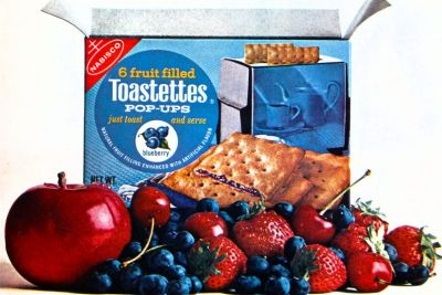 Fruit-filled Toastettes pop-ups toaster pastries from the 1960s