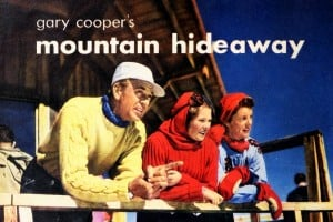 Gary Cooper's mountain hideaway: How the Hollywood star adored Aspen (1949)