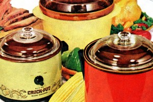 Genuine original Crock-Pot Slow Cookers from the '70s