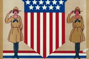 See vintage Girl Scouts uniforms, badges, activities & more from 100 years ago