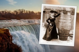 Go over Niagara Falls in a barrel? Meet the daredevil who did it first