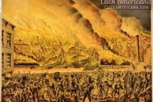 The Great Chicago Fire, as the horror happened in 1871 – and a look back from 100 years later