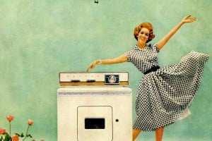How to be a perfect fifties housewife: Laundry edition