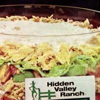 Hidden Valley Ranch 6-layer tuna salad recipe from 1977