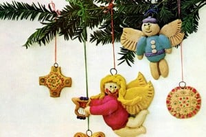 Remember making salt dough ornaments for Christmas? Here's how to do it again
