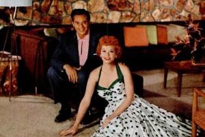 Lucille Ball & Desi Arnaz show off their dream carpet ('50s & '60s)
