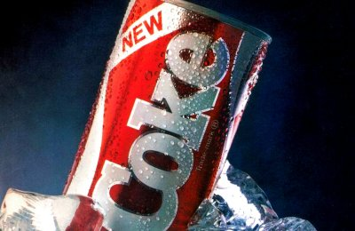 In the '80s, New Coke debuted, failed, then helped launch Coca-Cola Classic