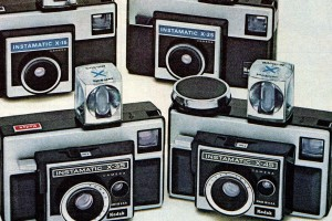Vintage Instamatic cameras: Flash back to the boxy, iconic cameras that pretty much everyone had in the '60s & '70s
