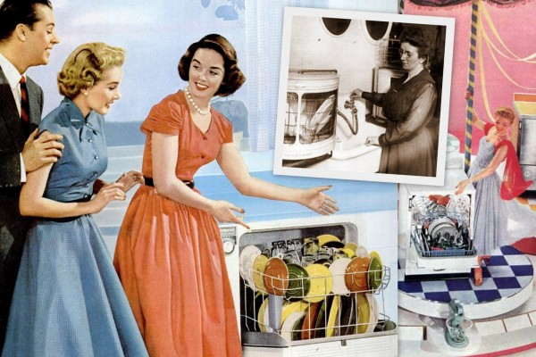How one woman invented the automatic dishwasher & saved us all countless hours of drudgery