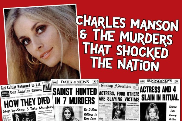 How the Manson murders shocked the nation when Sharon Tate & 6 others were killed in 1969