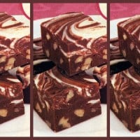 Marshmallow marble-top fudge: A vintage recipe from the '80s