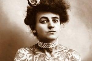Maud Stevens Wagner - The Tattooed Woman
