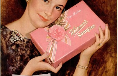 Whitman's Chocolates & the Mother's Day guilt trips (1940s)