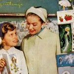 Look back at 100+ mid-century retro Christmas cards from the '50s & 60s