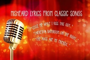 Misheard lyrics from hit songs: Mondegreens from the '60s, '70s and '80s