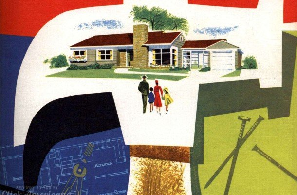130 vintage '50s house plans used to build millions of mid-century homes we still live in today