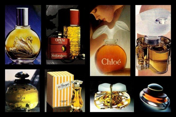 50 most popular vintage perfumes from the '80s