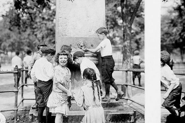 NYC New York City heat wave 1911