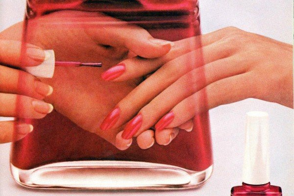 Nail polish ads from the '80s: Popular colors & top brands (1980-1989)