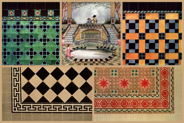 Need vintage home restoration inspiration? See 60 authentic tile patterns from the '20s