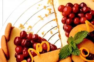 Nilla wafer cranberry cheesecake: A beautiful holiday dessert (1994)
