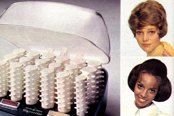 Old GE Hairsetter - hot curlers from 1969
