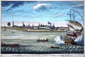 New Amsterdam to now: Images of New York in the Colonial days