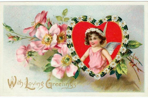 43 sweet vintage Valentine's Day cards from the early 1900s