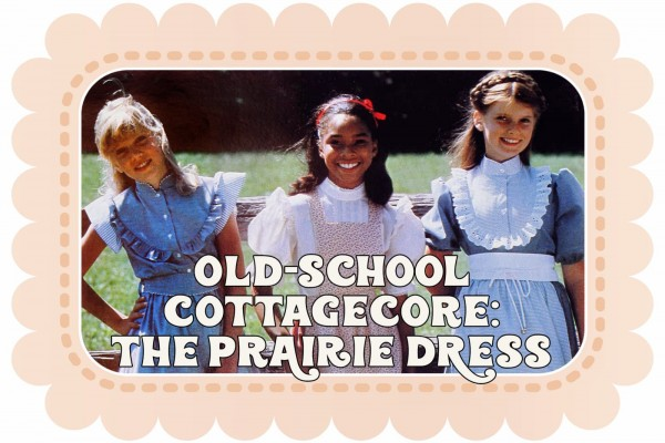 Old-school cottagecore The prairie dress