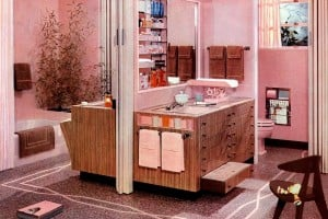 20 vintage pink bathrooms: See some wild bubblegum-era midcentury home decor of the 1950s & 1960s