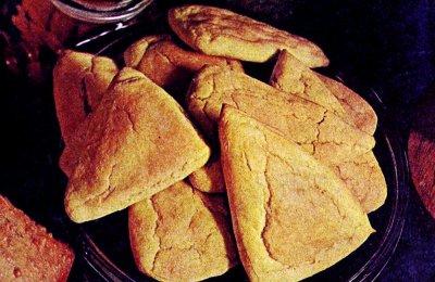 Potato corn triangle biscuits: A quick classic recipe