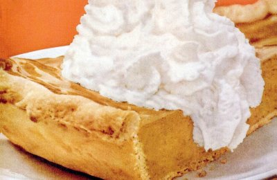 Two no-bake pumpkin pie recipes, '50s-style: Heavenly pie & Celestial pie